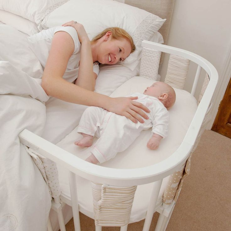 I want a co-sleeper cot. I would be way more comfortable having him sleep in this than have him in the bed.