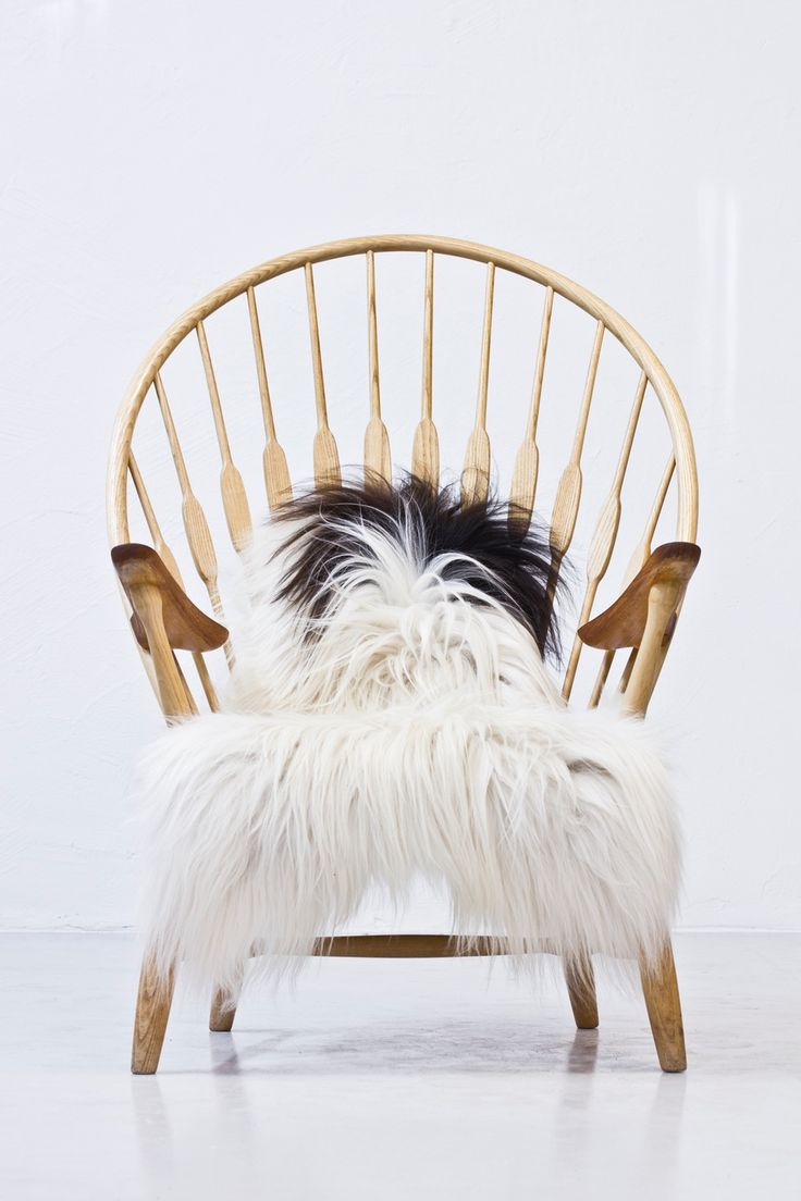 """Peacock chair"" by Hans J. Wegner via modernisten. Click on the image to see more!"