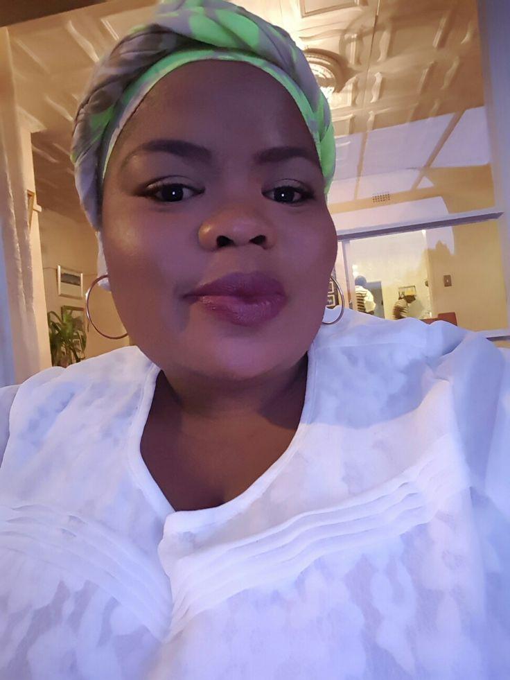 Head wrap coz I am African