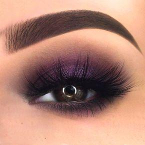 Interesting Makeup Ideas For Dark Brown Eyes ★ See more: https://makeupjournal.com/dark-brown-eyes-makeup-ideas/ #makeupideasforbrowneyes