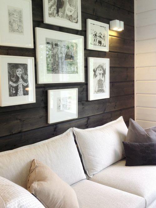 Tarja's Snowland: Asuntomessujen hirsitalot / Housing fairs loghouses