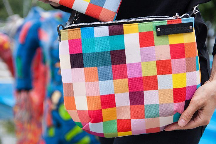 rainbow small crossbody bag