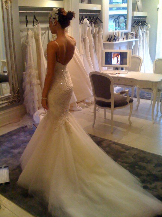 emmaloubella: The many blushing brides of Steven Khalil...
