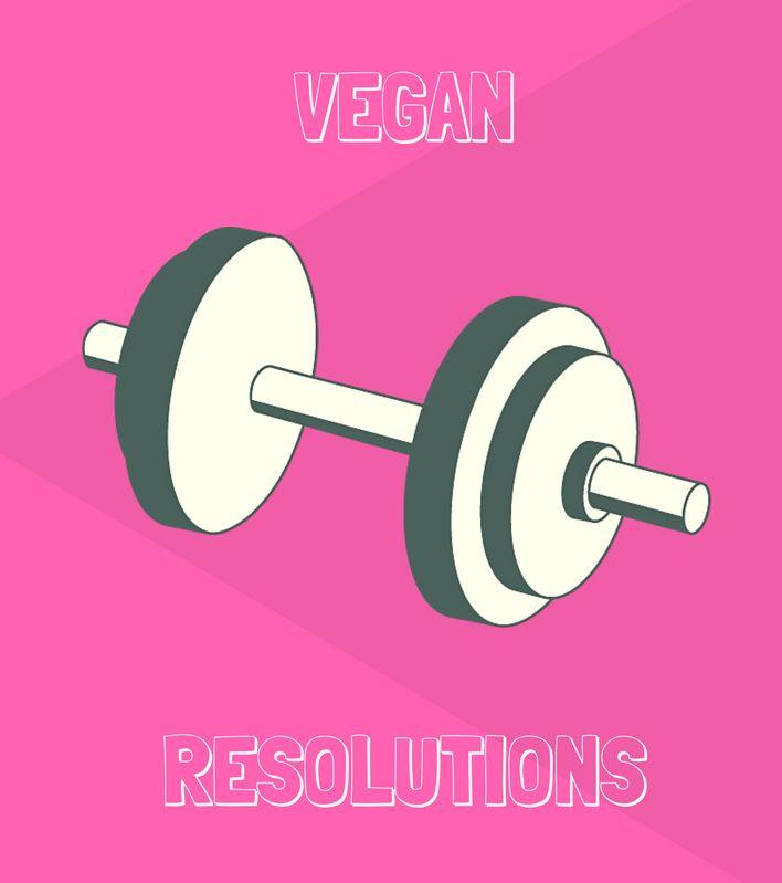 3 Vegans Share Their 2017 Resolutions