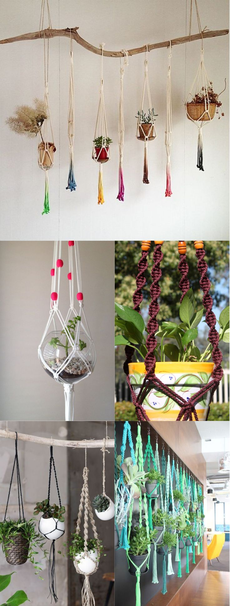 DIY Macramé Plant Hanger Ideas That Will Beautify Your Home