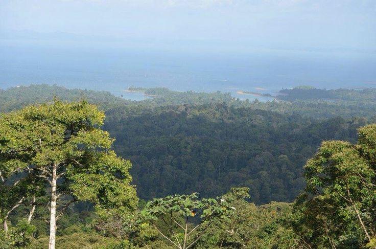 Uitzicht brownsberg Suriname