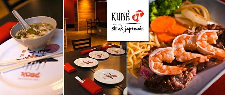 À partir de 29$ pour un extraordinaire menu teppanyaki 4 services pour deux personnes chez Kobe Steakhouse japonais (valant jusqu'à 80$)   GoYuB!