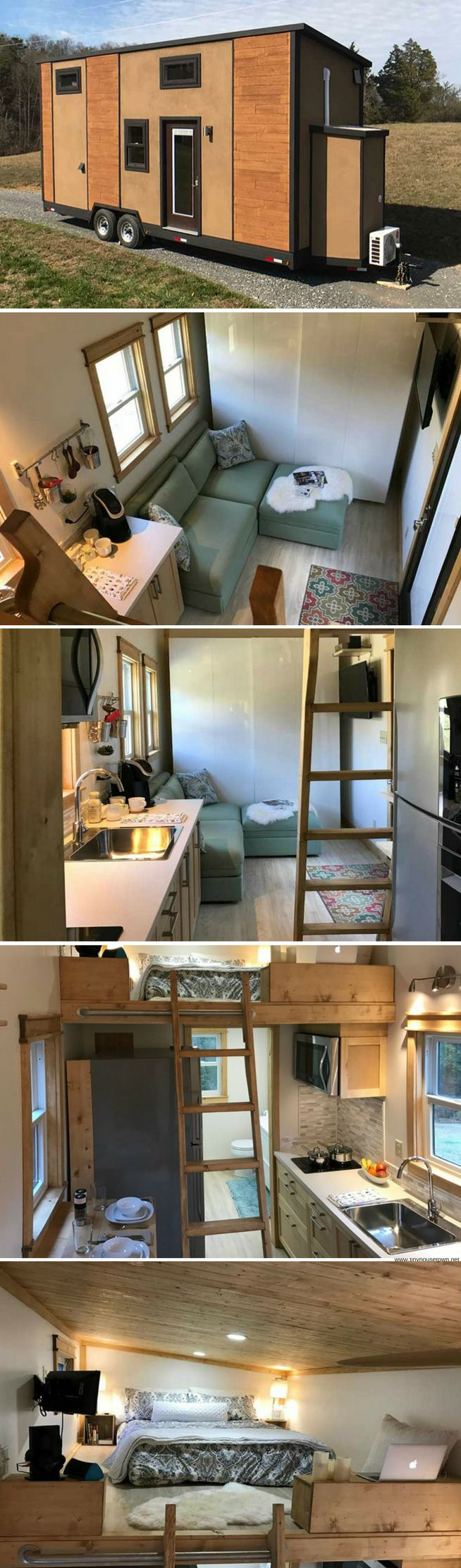 The Amsterdam 24: a 292 sq ft house from Transcend Tiny Homes