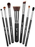 Sigma Beauty Best of Sigma Brush Set - Stay on top of your makeup game with 7 of Sigma's exclusive and current best-selling brushes. All Sigma exclusive synthetic fibers were engineered to outperform and outlast all animal hair. Brushes in this set can be used for foundation, concealer, contouring, highlighting, eye shadow application and detailed artistry. Includes F80 – Flat Kabuki: Best of Sigmax Kabuki Collection P88 – Precision Flat Angled: Best of Sigm