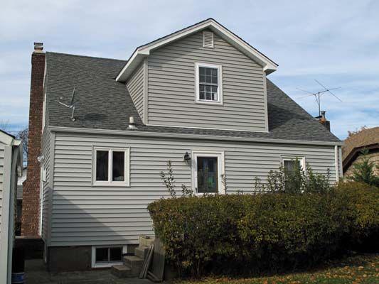 30 best shed dormer addition images on pinterest attic for Cape dormers