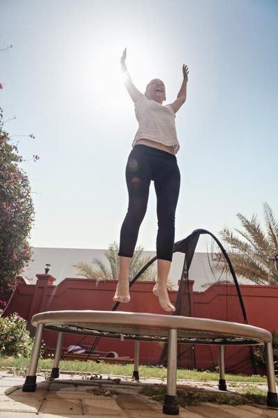 Is a Mini Trampoline Good for Bad Knees?