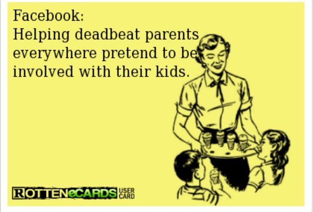 Cannot get over how true this is! So pathetic. So fake. Deadbeat dad for life.
