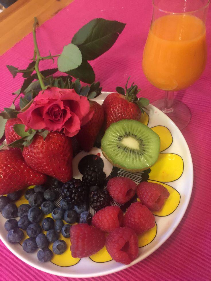 Marjat, Hedelmät, terveellinen ruokavalio