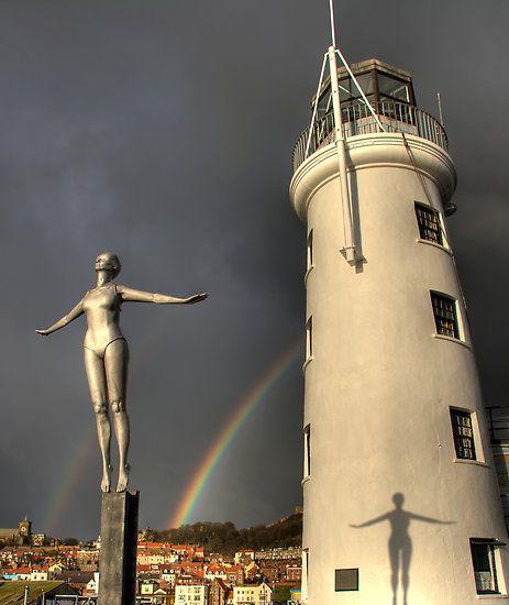 """Scarborough Lighthouse"" by Jon Tait"