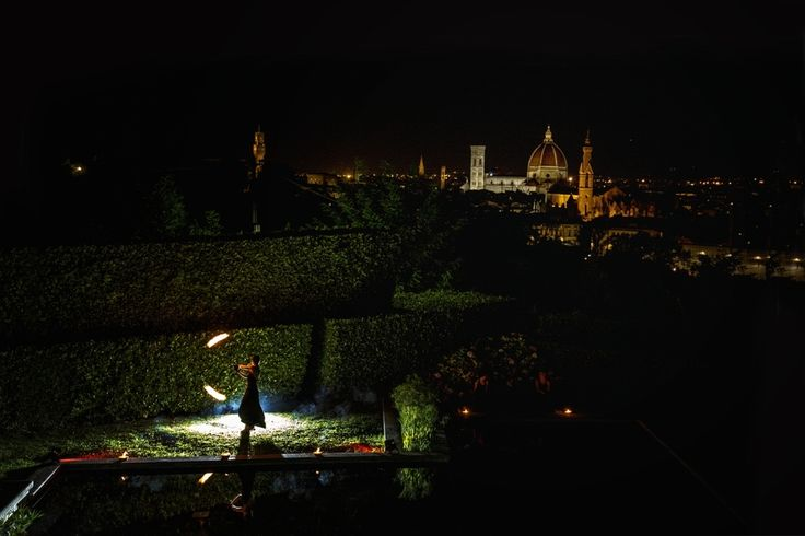 ALMA PROJECT Fireshow @ Villa La Vedetta - Wedding Top Entertainment - Thomas Harris Photo