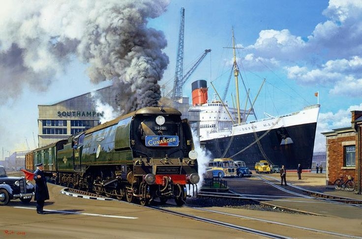 Railway Artist: Malcolm Root FGRA