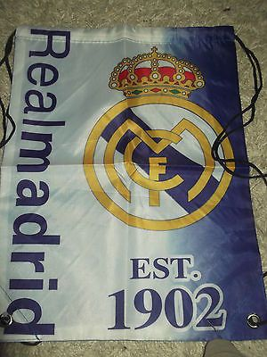 Real #madrid #football club #backpack bag / school bag / #football bag - new - spa,  View more on the LINK: 	http://www.zeppy.io/product/gb/2/190879419107/