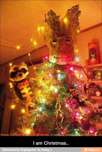 I am Christmas.