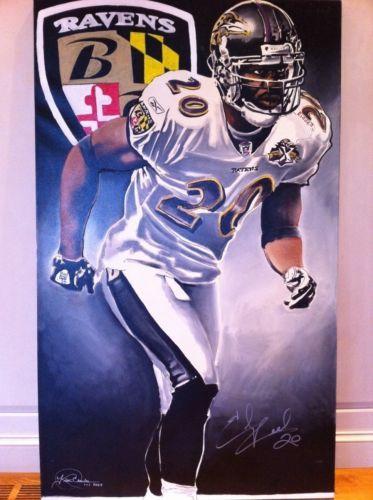 Ed-Reed-Ravens-Football-Jersey-Helmet-Autographed-Certified-Art