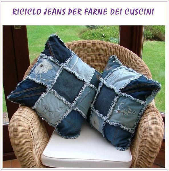 ANDYAAF: Diferentes manualidades con jeans                                                                                                                                                                                 Más