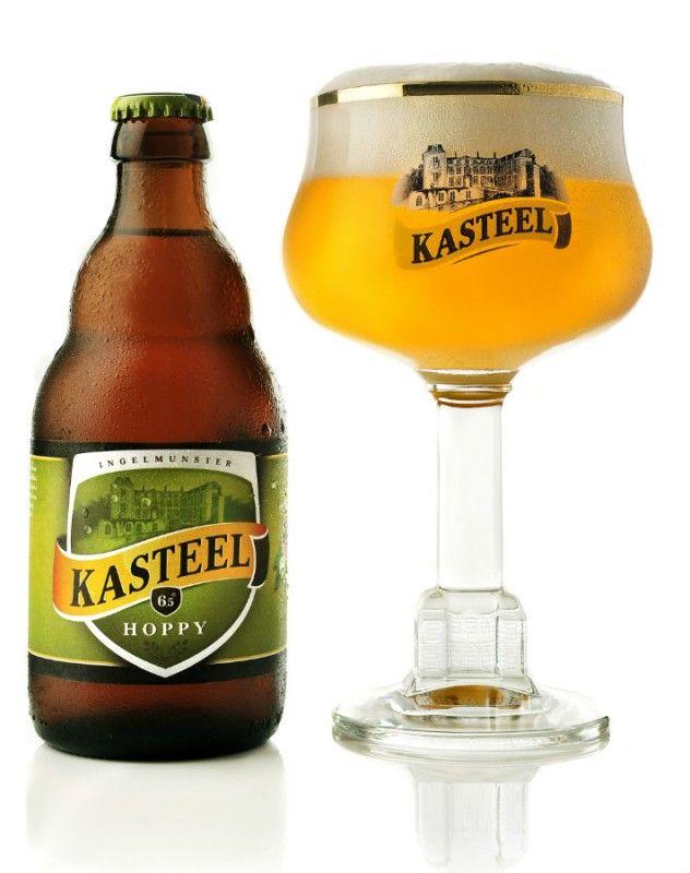 Cerveja Kasteel Hoppy, estilo Belgian IPA, produzida por Brouwerij Van Honsebrouck, Bélgica. 6.5% ABV de álcool.