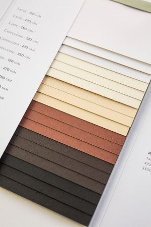 James Cropper 'Coffee' swatch.