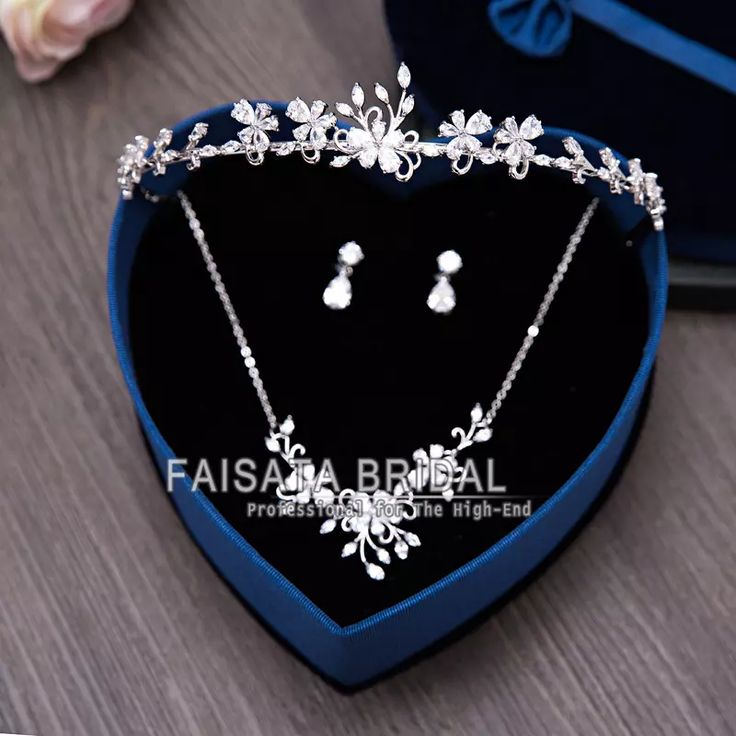 Bling Bling 2017 Wedding Bridal Accessories Set Bridal Crowns Matching Earrings And Pendant Necklace Sets High Quality In Stock Wedding Bridal Jewelry Bridal Crowns Necklace Sets Bridal Jewelry Sets Online with $51.42/Piece on Faisata's Store | DHgate.com