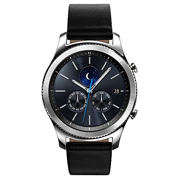 Samsung Gear S3 Classic Montre connectée Argent 2017 #2017, #Montresbracelet http://montre-luxe-homme.fr/samsung-gear-s3-classic-montre-connectee-argent-2017/