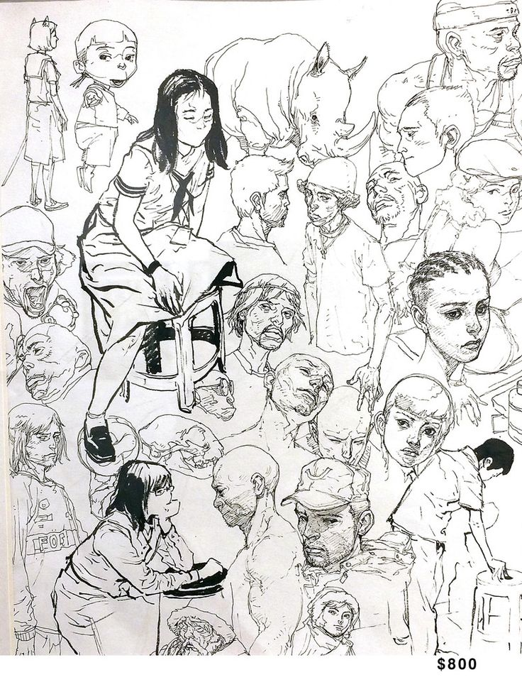 Original Art – Kim Jung Gi US