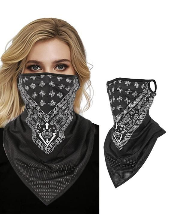 Neck Warmer Outdoor Windproof Dust-Free Motorcycle Face Mask for Women Men Face Scarf Lightweight Windproof Respirant Fishing Hiking Running Cycling Neck Gaiter