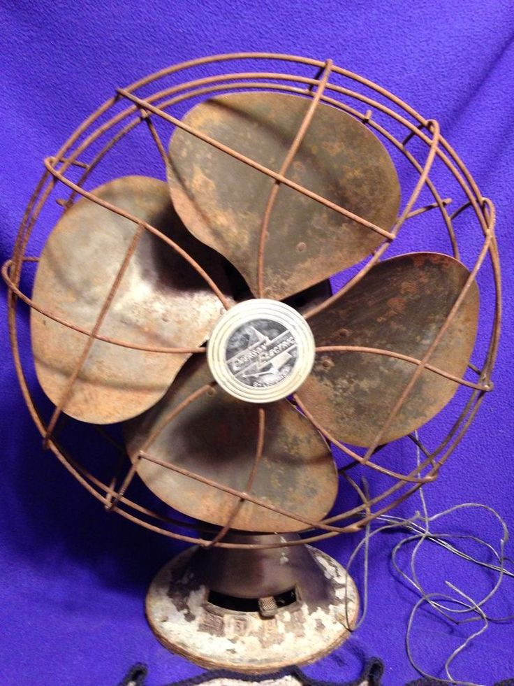 Antique Emerson Electric Brass Blade Fan