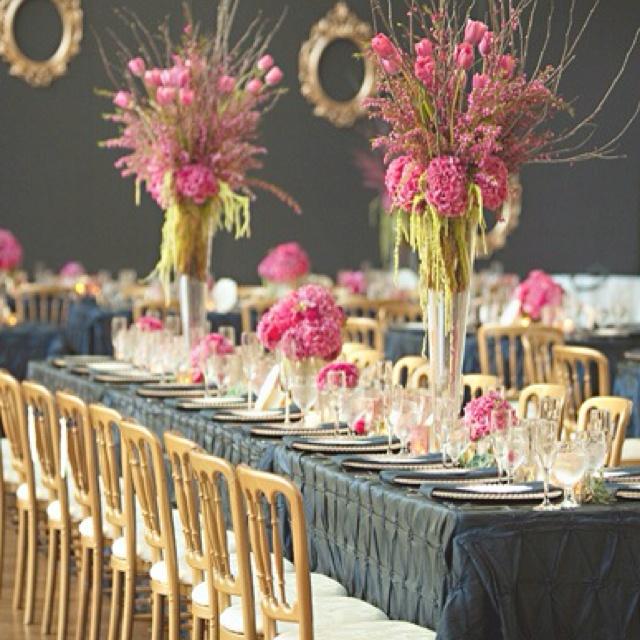 Pink And Black Wedding Ideas 30 Fuchsia Hot Pink Wedding Color