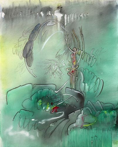 Tornado di Sensazioni by Roberto Matta  Discover the coolest shows in New York at www.artexperience.com