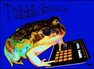Pobblebonk using a machine!