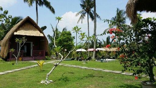 Namaste resort on Nusa Penida island