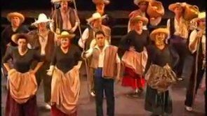 Antología de la Zarzuela Homenaje a José Tamayo (2009-Teatro Gran Vía, Madrid). Director musical: José Antonio Irastorza. Yo estoy en el coro.