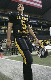 playing for Army All-American bowl in 2006