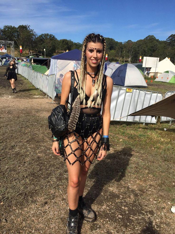 australian festival fashion  festivalsquad  edm