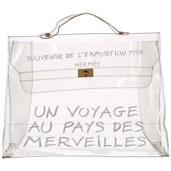 Hermès Transparent Vinyl Clear Kelly Souvenir De L
