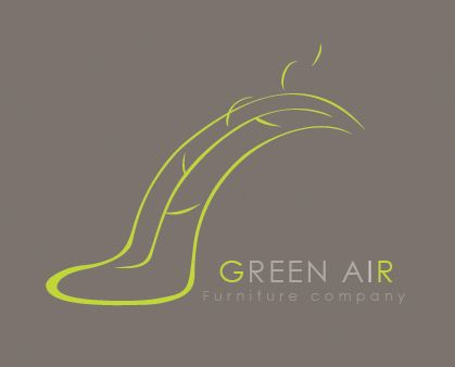 Identity. Green Air furniture company on Behance