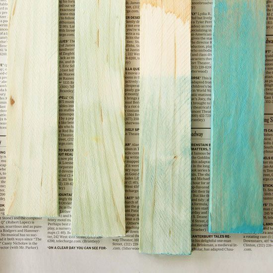 How To: Color Wash Furniture For a muted look, try this color-wash technique on any unsealed material -- wood, terra-cotta, wicker, and bamboo all absorb watered-down paint pigment. By Brian Kramer & Chelsea Evers