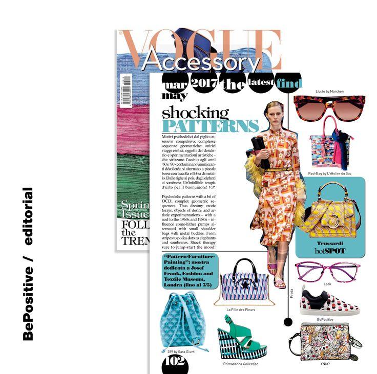 BePositive / Editorial  Vogue Accesorry  Magazine IT