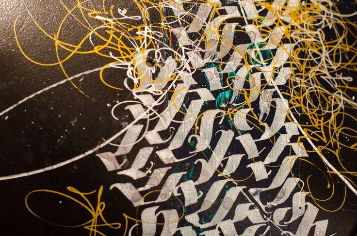 Calligraffiti - Patrick Hartl zeigt This is high voltage