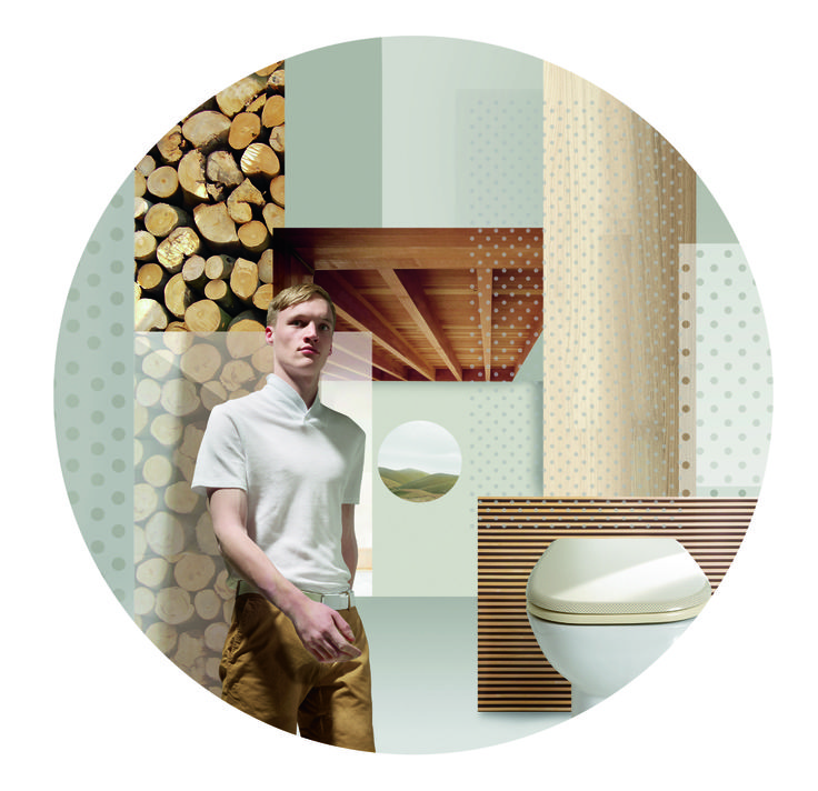 All Natural World by Pressalit, designed by Scholten & Baijings