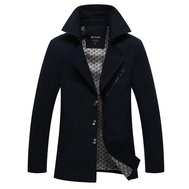 BOYUAN Brand Clothing Jacket Men Jaqueta Masculina Mens Spring Jackets Cortavientos Hombre Blouson Homme Big Size M-4XL H818