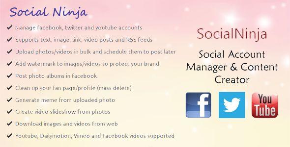 Social Ninja – Social ID Manager
