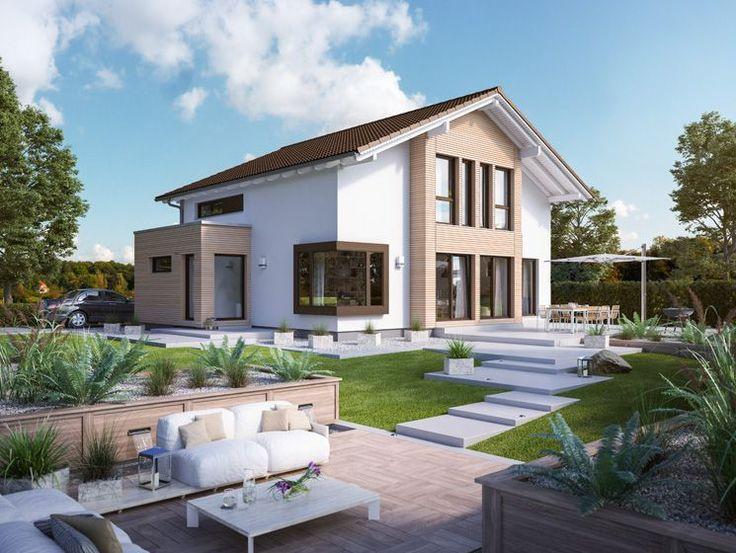 Unser FANTASTIC 165 V5. #Haus #Fertighaus #Hausbau #Design #Architektur #Einfamilienhaus #House #BienZenker