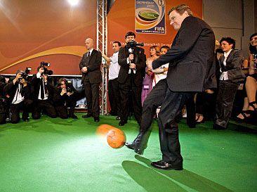 Guido Westerwelle 2010 beim Ball des Sports der Deutschen Sporthilfe. Foto: www.sporthilfe.de