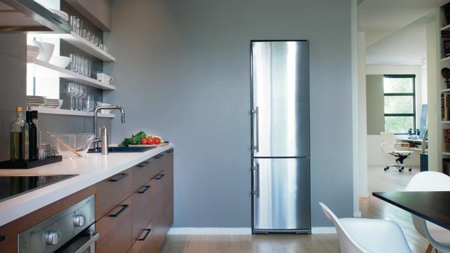 Une cuisine à l'Inspiration resto | CHEZ SOI - frigo Liebherr chez Almar Montréal