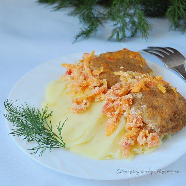 Кулинарный блог 365 дней: Куриные котлеты в гречневой панировке